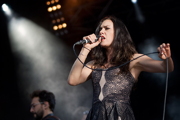 Olivia Ruiz - Estivale Open Air - Concert - Photo