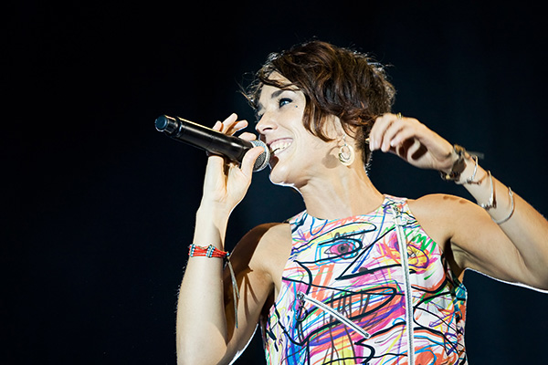 Zaz - Estivale - Photo concert